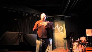 Bill Johnston Reading The Last Masterpiece At AQ, Apr 29 2013