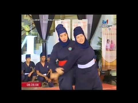 SPM TV1 - Demonstrasi Silat Cekak Malaysia (2)- (29/6/2018)