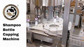 Automatic Shampoo Bottle Capping Machine