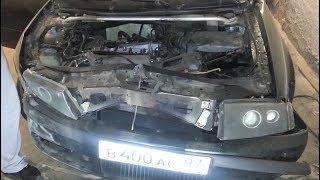 Машины, разбитые