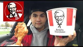 ME EATING A BUCKET OF KENTUCKY FRIED CHICKEN MUKBANG - Video Youtube