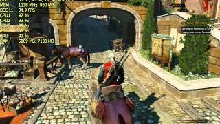The Witcher 3 on HD 7750 + FX-4300