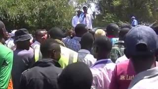 Un-Aired Exclusive: Makueni Governor-Prof. Kivutha Kibwana heckled during voter listing campaigns