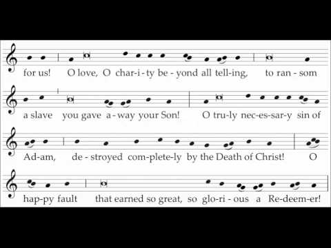 Easter Proclamation - Exsultet - New Translation of the Roman Missal - Practice Video