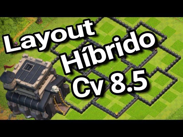 layout híbrido para cv8 5 th8 5 layout híbrido layout cv8 th8 trophy