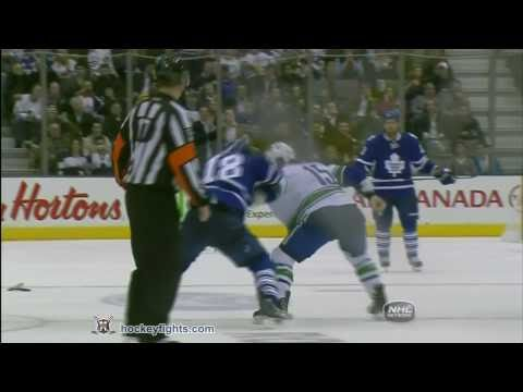 Mike Brown vs. Tanner Glass