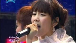 SNSD 少女時代 ♥  Kissing You + Girls' Generation Live HD