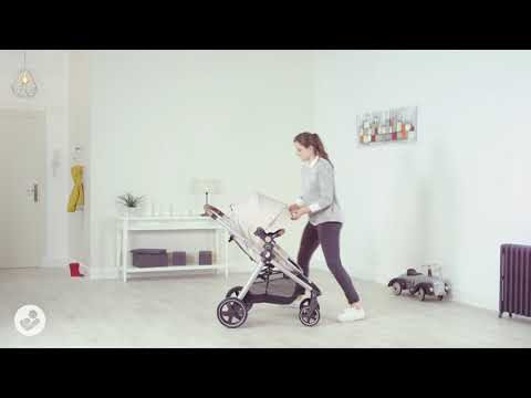 Maxi-Cosi Zelia Stroller Video - How to extend canopy and reverse seat?
