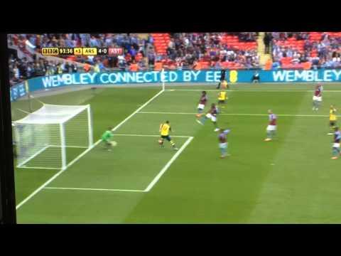 4-0 Giroud   2015 FA CUP FINAL   Arsenal vs Aston Villa