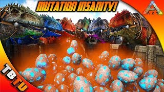 🔥 1,000 GIGA EGGS! EPIC GIGA MUTATIONS! GIGANOTOSAURUS COLOR MUTATIONS! Ark Survival Evolved