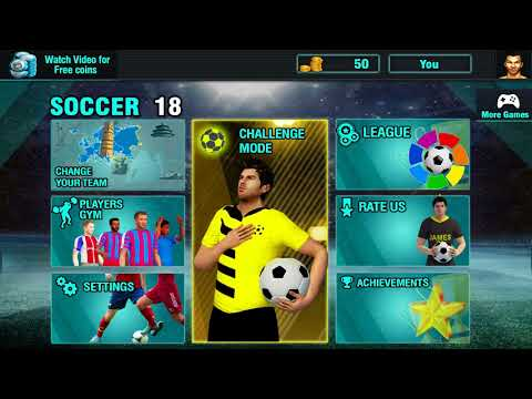 Soccer Leagues Mega Challenge 2018: Football Kings video