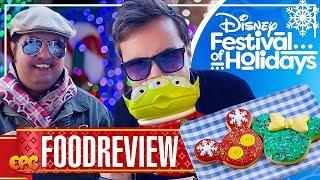 Festival Of Holidays FOOD at Disney California Adventure 2018!
