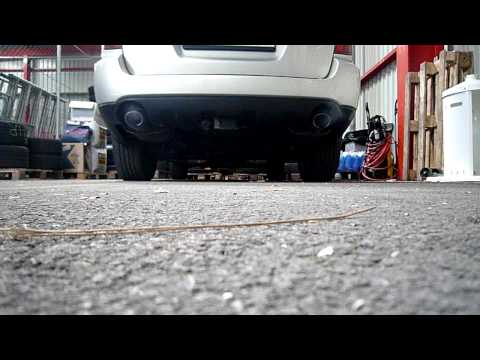 Subaru Legacy Outback - exhaust looks standard but is modified - sound tuning step1