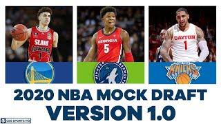 FULL First Round NBA Mock Draft | 2020 Super NBA Mock Draft | CBS Sports HQ