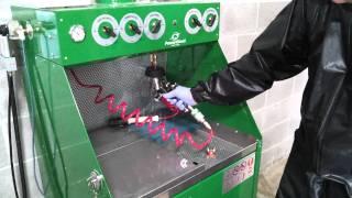 E800A Waterborne Spray Gun Cleaner Workstation – Operation