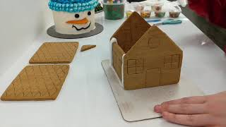 Gingerbread House Assembly