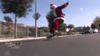 This Santa Doesn't Need Reindeer to Fly | MuirSkate Longboard Shop
