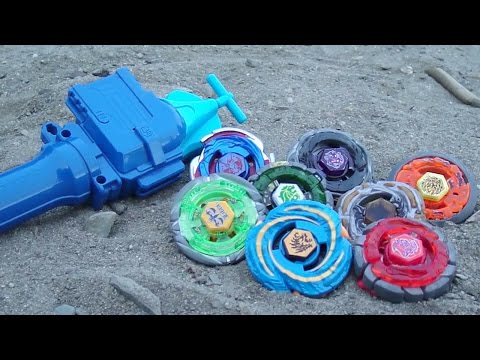 ~Outdoor Beyblade Battle Series #3: Sand! (Viewer Requested)