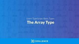 TypeScript: The Array Type
