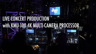 Datavideo KMU-100 & JVC GY-LS300 @ 2019 NAMM Show | 4K Video Processor