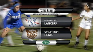 Full replay: ECC Girls' Soccer Final - Waterford at Stonington