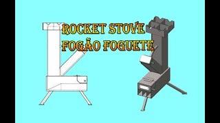 Fabricando um pratico e eficiente fogão foguete(rocket stove).