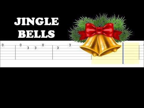 Jingle Bells (Easy Guitar Tabs Tutorial)