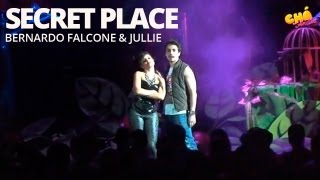 Bernardo Falcone & Jullie - Secret Place (Ao Vivo) @ Chá da Anitta 2 - Pheeno TV
