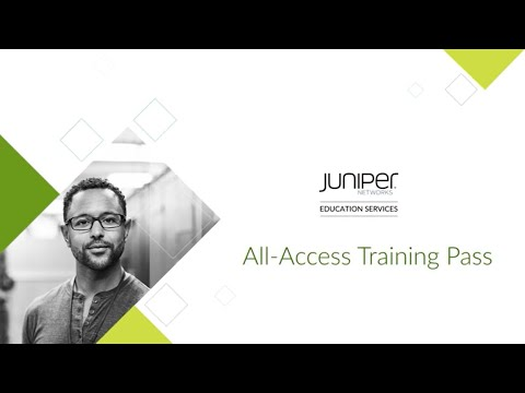 Juniper Networks All-Access Training Pass - YouTube