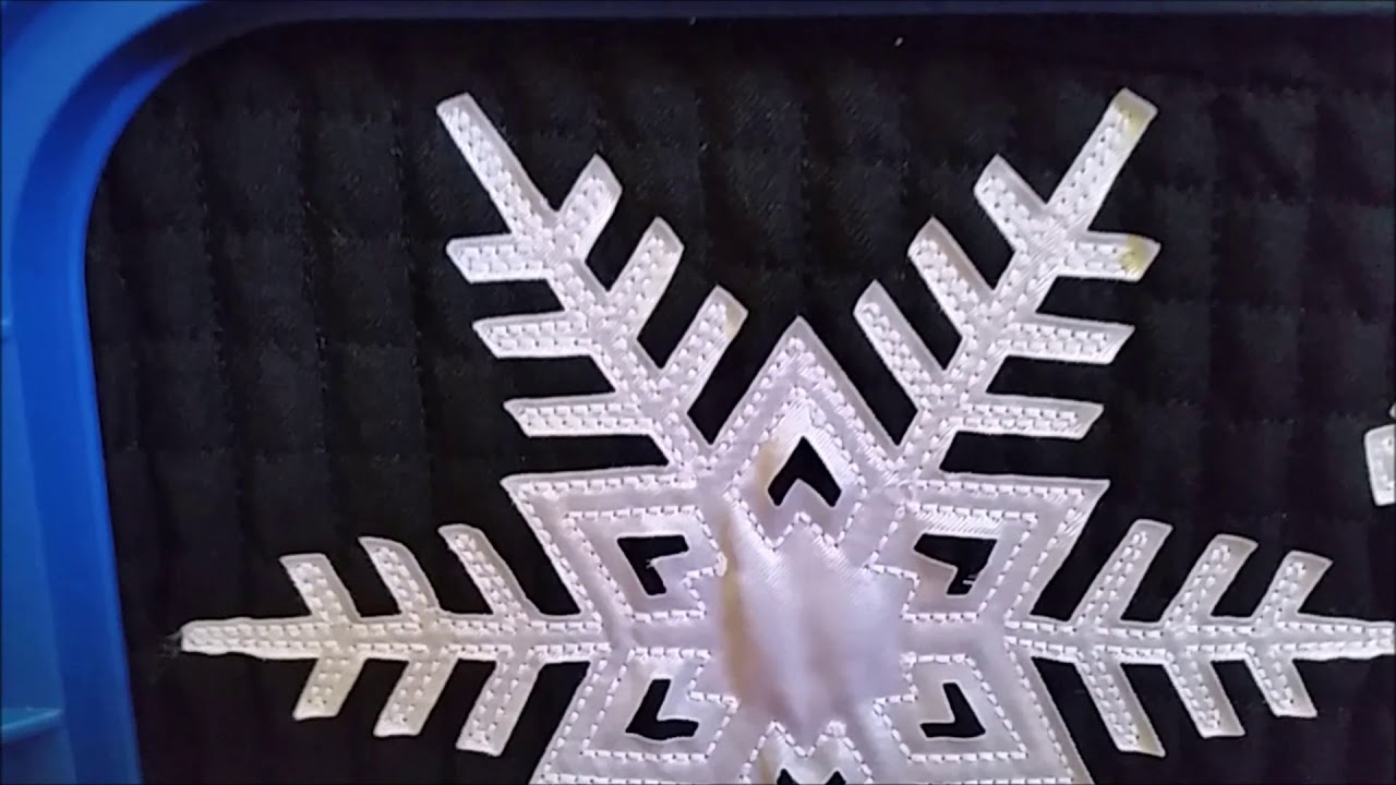 Snowflakes Laser Cut on the Z Galva