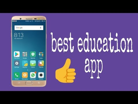 Top 5 Best Education Apps For Learning 2018 || Education app for students