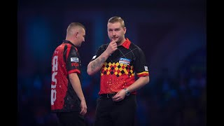 "Dimitri van den Bergh: ""I've learned from Peter Wright not only in darts but in life experience"""