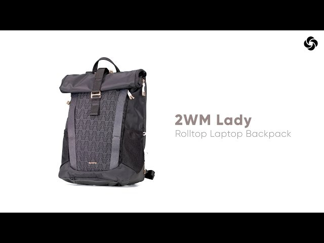 "2WM Mesh Laptop Rucksack  15.6"" video 1"