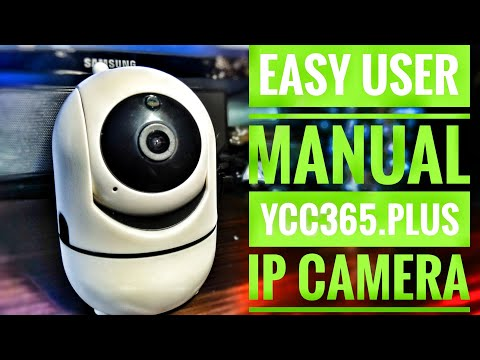 ycc365 plus ip camera user manual haw to use review unboxing