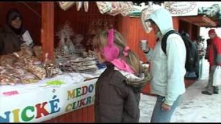 preview picture of video 'Vianočné trhy 2010 - Žiar nad Hronom'