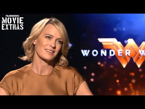 Wonder Woman (2017) Robin Wright talks about her experience making the movie