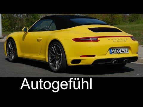 Sound & Performance test Porsche 911 Facelift Carrera 4S 0-200 km/h 0-125 mph Porsche 991.2
