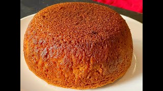 cake recipe with plain flour and no butter