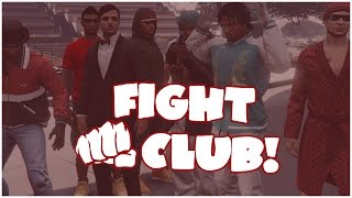 GTA 5 Online Fight Club - WHOOPED SO BAD HE THOUGHT HE GOT SHOT!