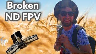 Broken ND FPV. ( Camera Butter ND Filter )