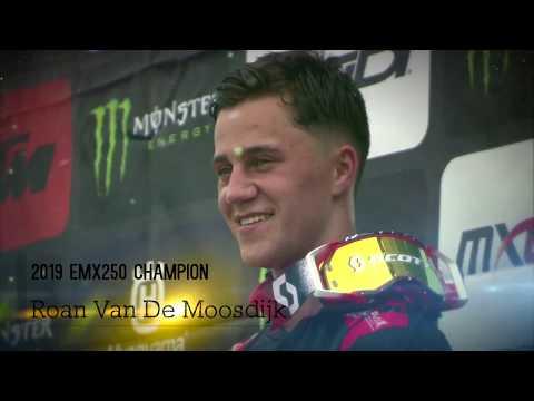 Roan Van De Moosdijk   2019 EMX250 Champion #motocross