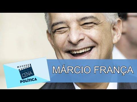 Entrevista com o governador de São Paulo, Márcio França