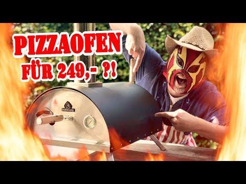 Pellet PIZZAOFEN Nero von Burnhard im TEST!! Pizza 👀