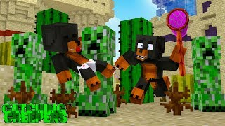 Minecraft MY HOUSE IS FULL OF EXPLOSIVE CREEPERS!!