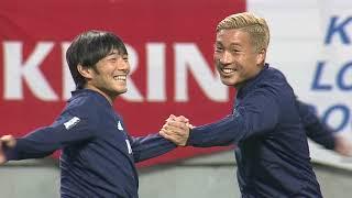 サッカー日本代表11.15公式練習キリンチャレンジカップ