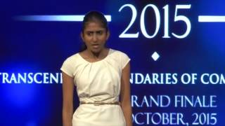 Amalini Fernando - Impromptu Speech - Best Speaker 2015