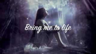 Evanescence~ Bring Me To Life (lyrics)