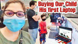 Gifting Our Child a FIRST New Laptop In Singapore Pandemic losses | Superprincessjo