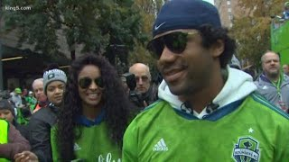 Interview with Russell Wilson and Ciara
