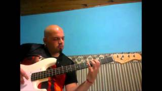 mucky pup the exploited (bass cover)
